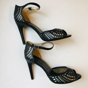 Women's Black Studded Heels by Sole Society - 10